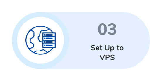 set up to VPS